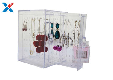 Home Acrylic Jewelry Organizer Clear Acrylic Jewelry Box Organizer For Watches / Bracelets